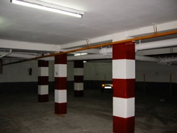 Pintura de garaje y señalización de plazas