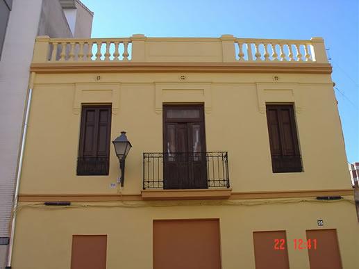 Pintura de fachada exterior de edificios unifamiliares o - Pintura exterior fachada ...
