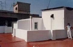 Terraza impermeabilizada con SIKAFILL